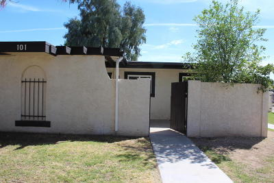 Mesa AZ Condo/Townhouse For Sale: $124,500