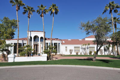 Paradise Valley Single Family Home For Sale: 6714 E Berneil Lane