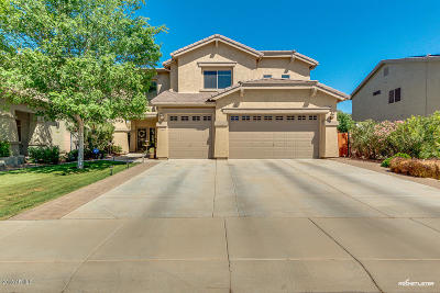 Maricopa Single Family Home UCB (Under Contract-Backups): 44568 W High Desert Trail
