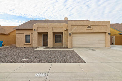 Glendale Single Family Home For Sale: 4119 W Mariposa Grande Lane