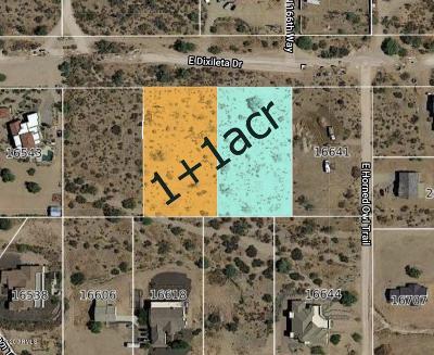 Scottsdale Residential Lots & Land For Sale: 166xx E Dixileta Drive