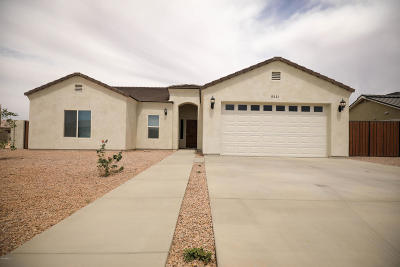 Arizona City Single Family Home For Sale: 9221 W Hartigan Lane