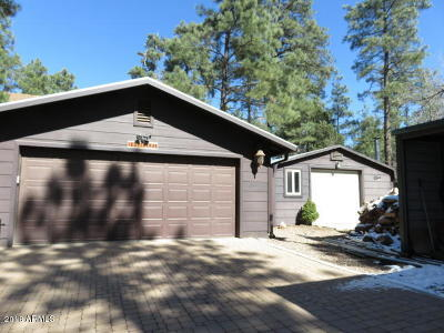 Show Low Single Family Home For Sale: 1424 Flores Drive