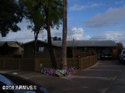 Phoenix Single Family Home For Sale: 2222 W Shaw Butte Drive