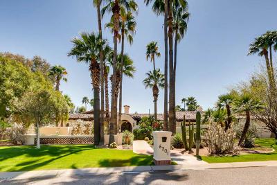 Paradise Valley Single Family Home For Sale: 6201 E Via Los Caballos