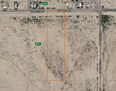 Eloy AZ Residential Lots & Land For Sale: $80,000
