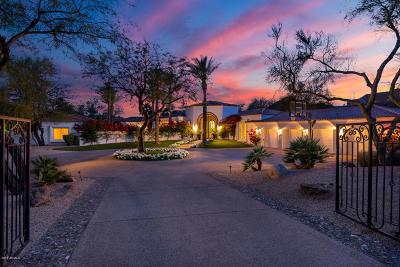 Paradise Valley Single Family Home For Sale: 4899 E Mockingbird Lane