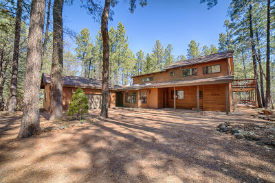 Pinetop Single Family Home For Sale: 2864 Aspen Loop