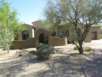 Scottsdale Single Family Home For Sale: 8535 E Preserve Way