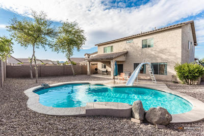 Maricopa Single Family Home For Sale: 43995 W Adobe Circle