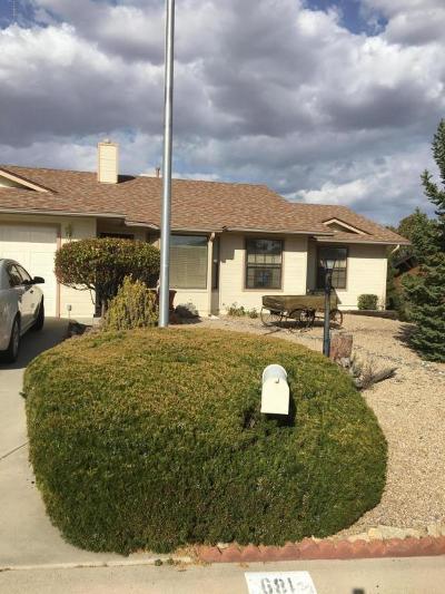 Prescott Single Family Home For Sale: 681 Sunrise Boulevard