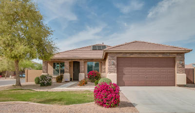 Maricopa Single Family Home For Sale: 36188 W Seville Drive