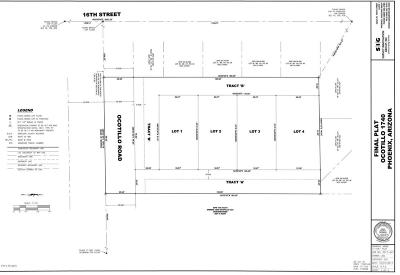 Residential Lots & Land For Sale: 1740 E Ocotillo Road