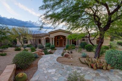 Carefree AZ Single Family Home For Sale: $1,250,000