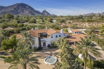 Paradise Valley Single Family Home For Sale: 6110 N Kachina Lane