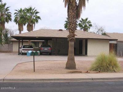 Apache Junction, Mesa Multi Family Home For Sale: 4826 Caballero Circle