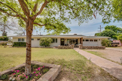 Phoenix Single Family Home UCB (Under Contract-Backups): 4820 N 35th Street