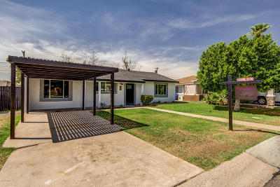Phoenix Single Family Home For Sale: 3418 N 26th Place