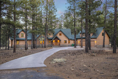 Flagstaff Single Family Home For Sale: 4100 N Wildcat Trail