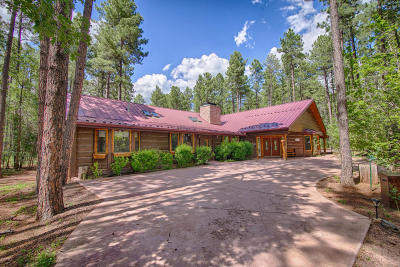 Pinetop Single Family Home For Sale: 3168 Ponderosa Parkway