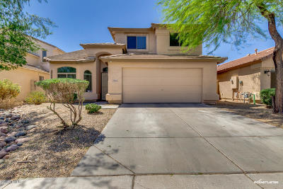 San Tan Valley Single Family Home UCB (Under Contract-Backups): 28500 N Desert Hills Drive