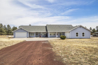 Flagstaff Single Family Home For Sale: 11803 N Onika Lane