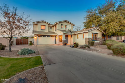 Gilbert Single Family Home UCB (Under Contract-Backups): 1280 E Azalea Drive