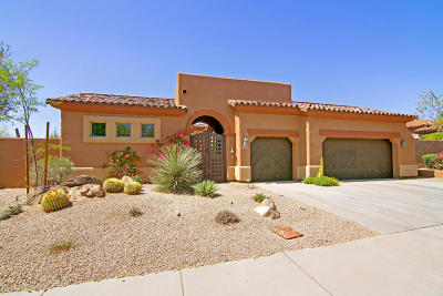 Scottsdale Single Family Home For Sale: 8106 E Wing Shadow Road