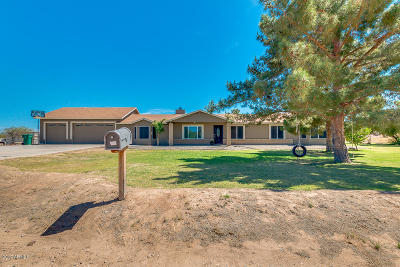 Queen Creek Single Family Home For Sale: 25645 S Lemon Avenue