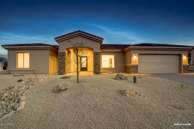Fountain Hills Single Family Home For Sale: 17459 E Caliente Drive