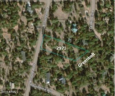 Overgaard Residential Lots & Land For Sale: 2971 Arrowhead Drive