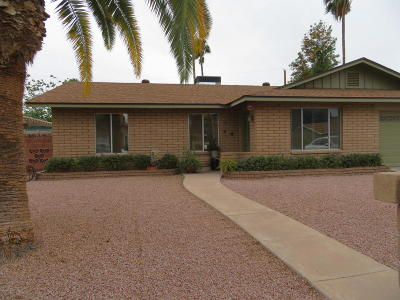 Phoenix Single Family Home For Sale: 1649 W Griswold Road