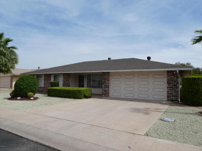 Sun City Rental For Rent: 10607 W Gulf Hills Drive