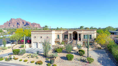 Phoenix Single Family Home For Sale: 4025 E McDonald Drive