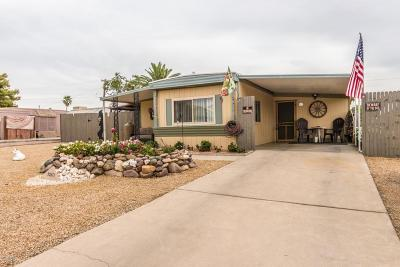 Sun City Mobile/Manufactured For Sale: 10813 W Palm Tree Drive
