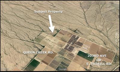 Buckeye Residential Lots & Land For Sale: 19501 W Queen Creek Road
