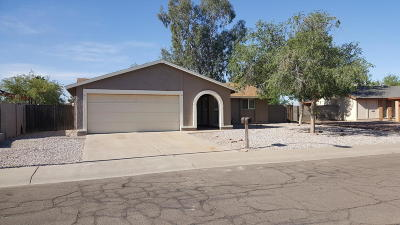 Chandler Single Family Home For Sale: 1403 W Los Arboles Place