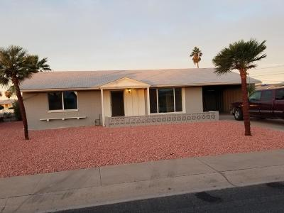 Sun City AZ Single Family Home For Sale: $149,900