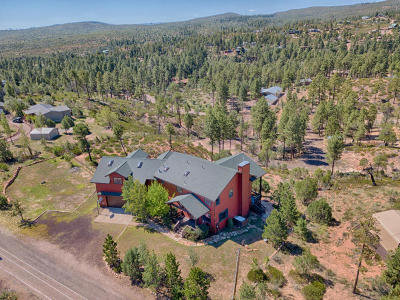 Show Low Single Family Home For Sale: 890 Old Settler Trail