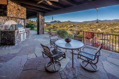 Scottsdale Single Family Home For Sale: 8099 E Lone Mountain Road