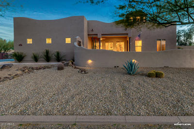 Phoenix Single Family Home UCB (Under Contract-Backups): 1411 W Desert Hills Estate Drive