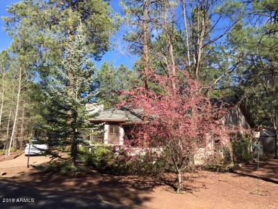 Pinetop Single Family Home For Sale: 4951 Mallard Circle