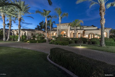Paradise Valley Single Family Home For Sale: 6852 E Fanfol Drive