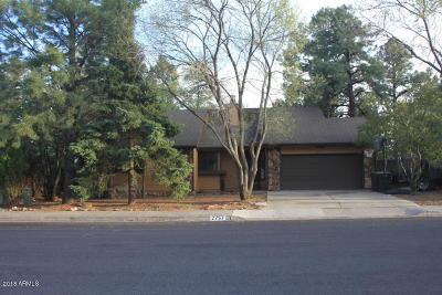 Flagstaff Single Family Home For Sale: 2757 E Matterhorn Drive