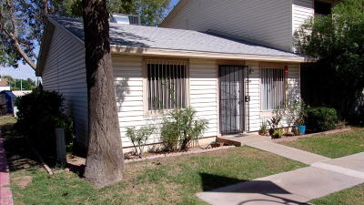 Tempe Condo/Townhouse For Sale: 5104 S Kenneth Place