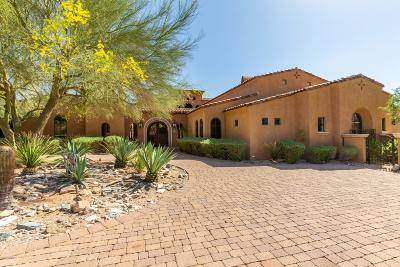 Anthem, Avondale, Chandler, Glendale, Goodyear, Mesa, Peoria, Scottsdale, Tempe, Wittmann Single Family Home For Sale: 11071 E Saguaro Canyon Trail