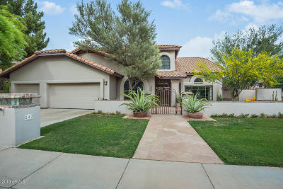 Phoenix Single Family Home For Sale: 242 W Royal Palm Road