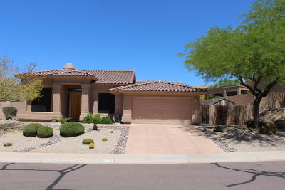 Fountain Hills Single Family Home For Sale: 17358 E Via Del Oro Street
