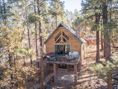 Pinetop Single Family Home For Sale: 3007 S Briarwood Lane Lane