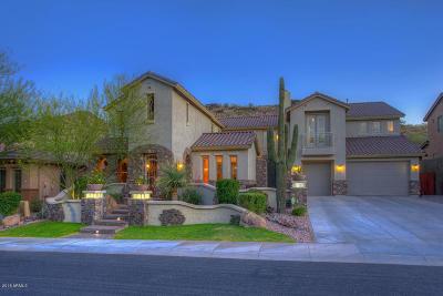 Phoenix Single Family Home For Sale: 3611 W Hidden Mountain Lane